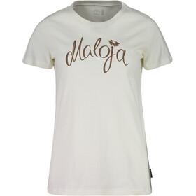 Maloja SandraM. T-Shirt Femme, vintage white